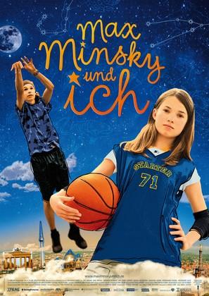 Max Minsky und ich - German Movie Poster (thumbnail)