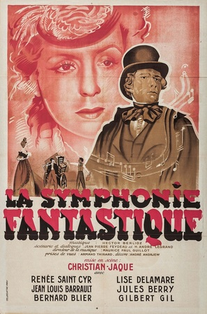 La symphonie fantastique - French Movie Poster (thumbnail)