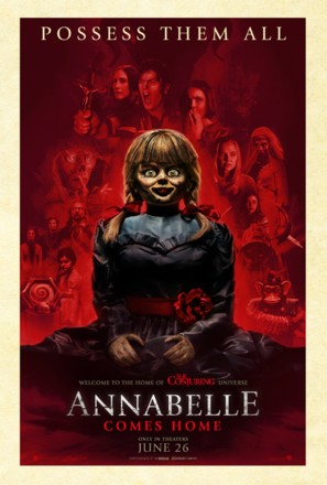 Annabelle Comes Home - Movie Poster (thumbnail)