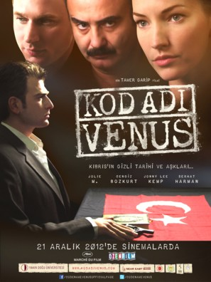 Kod Adi: Venüs - Turkish Movie Poster (thumbnail)