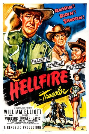 Hellfire - Movie Poster (thumbnail)