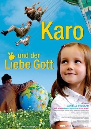 Karo und der liebe Gott - German poster (thumbnail)