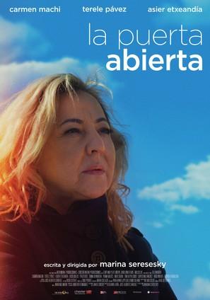 La puerta abierta - Spanish Movie Poster (thumbnail)