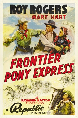 Frontier Pony Express - Movie Poster (thumbnail)