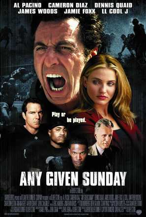 Any Given Sunday - Movie Poster (thumbnail)