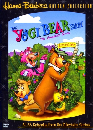 """The Yogi Bear Show"" - DVD cover (thumbnail)"