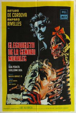 El esqueleto de la señora Morales - Mexican Movie Poster (thumbnail)