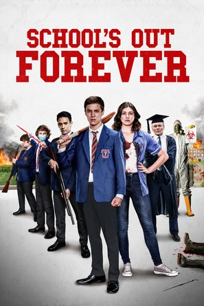 School's Out Forever - British Movie Cover (thumbnail)
