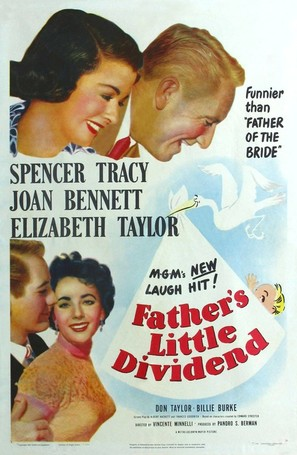 Father's Little Dividend - Movie Poster (thumbnail)