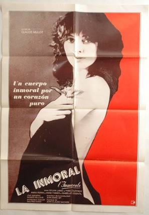 Immorale, L' - Chilean Movie Poster (thumbnail)