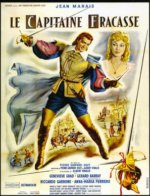 Le capitaine Fracasse - French Movie Poster (thumbnail)