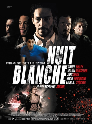 Nuit blanche - French Movie Poster (thumbnail)