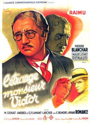 L'étrange Monsieur Victor - French Movie Poster (thumbnail)