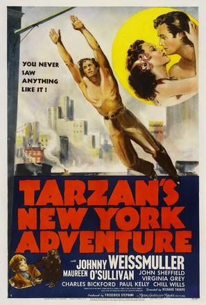 Tarzan's New York Adventure - Movie Poster (thumbnail)
