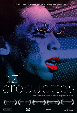 Dzi Croquettes - Brazilian Movie Poster (thumbnail)