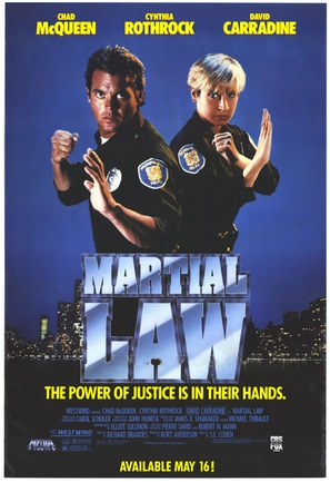 Martial Law - Video release poster (thumbnail)
