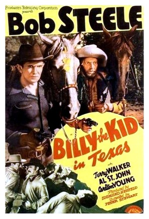 Billy the Kid in Texas - Movie Poster (thumbnail)