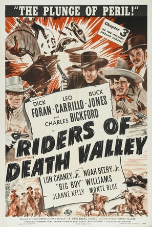 Riders of Death Valley - Movie Poster (thumbnail)