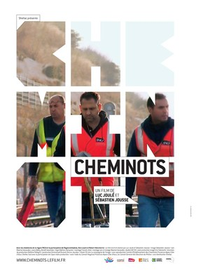 Cheminots - French Movie Poster (thumbnail)
