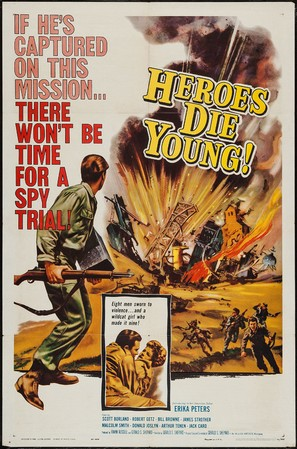 Heroes Die Young - Movie Poster (thumbnail)