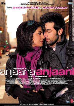 Anjaana Anjaani - Indian Movie Poster (thumbnail)