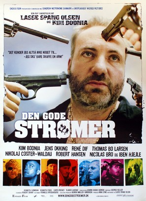 Den gode strømer - Danish Movie Poster (thumbnail)
