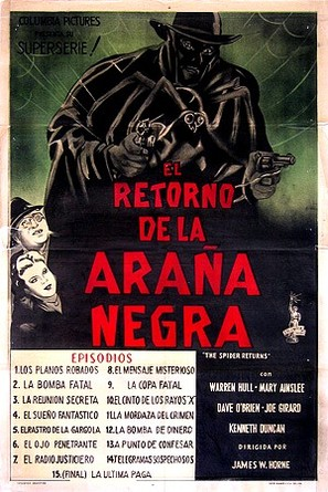 The Spider Returns - Argentinian Movie Poster (thumbnail)