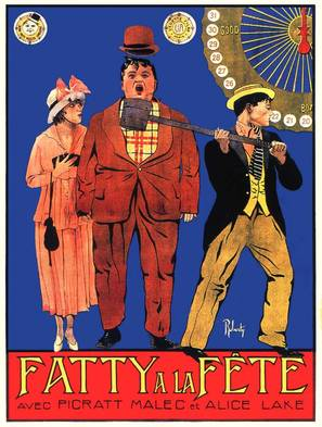 Mabel and Fatty Viewing the World's Fair at San Francisco - French Movie Poster (thumbnail)