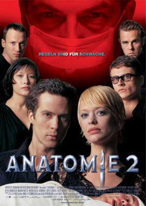 Anatomie 2 - German Movie Poster (thumbnail)