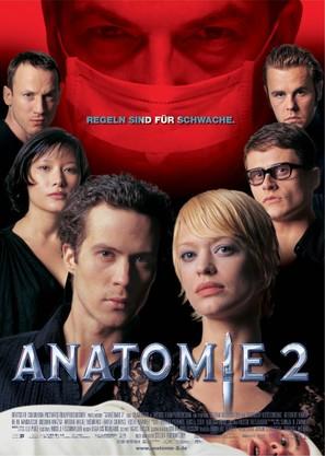 Anatomie 2 - German Movie Poster (thumbnail)