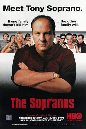 """""""The Sopranos"""" - Movie Poster (thumbnail)"""