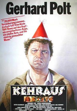 Kehraus - German Movie Poster (thumbnail)