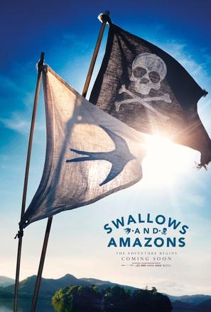 Swallows and Amazons - British Movie Poster (thumbnail)