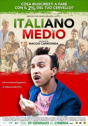 Italiano medio - Italian Movie Poster (thumbnail)