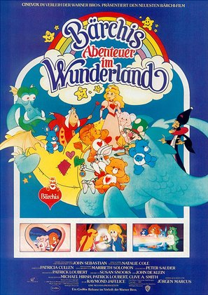 The Care Bears Adventure in Wonderland - German poster (thumbnail)