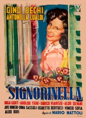 Signorinella - Italian Movie Poster (thumbnail)