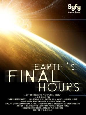 Earth's Final Hours - British Movie Poster (thumbnail)