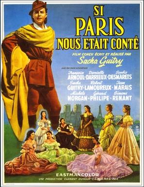 Si Paris nous ètait contè - French Movie Poster (thumbnail)