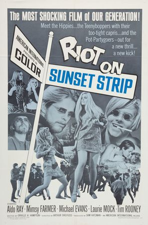 Riot on Sunset Strip - Movie Poster (thumbnail)