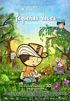 Pequeñas voces - Colombian Movie Poster (thumbnail)