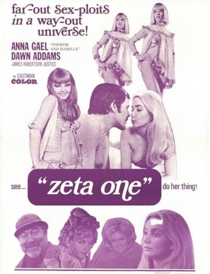 Zeta One - British Movie Poster (thumbnail)