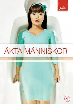 """""""Äkta människor"""" - Swedish DVD movie cover (thumbnail)"""