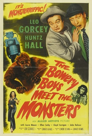 The Bowery Boys Meet the Monsters - Movie Poster (thumbnail)
