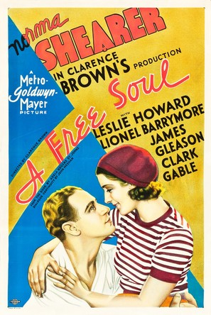A Free Soul - Movie Poster (thumbnail)