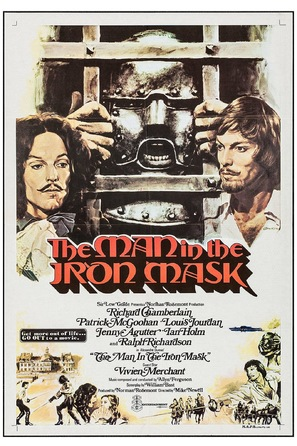 The Man in the Iron Mask - British Movie Poster (thumbnail)