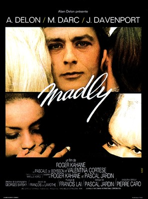 Madly - French Movie Poster (thumbnail)