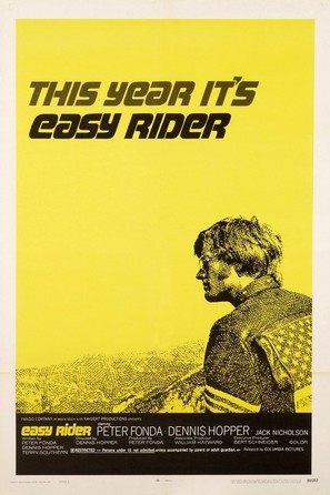 Easy Rider - Movie Poster (thumbnail)