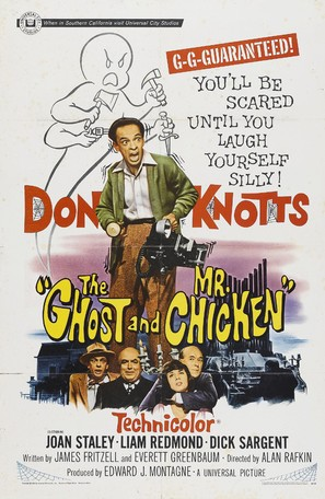 The Ghost and Mr. Chicken - Movie Poster (thumbnail)