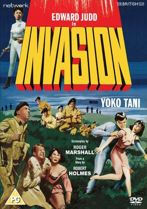 Invasion - British DVD movie cover (thumbnail)