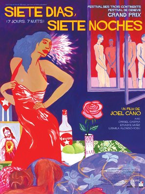 Siete días, siete noches - French poster (thumbnail)